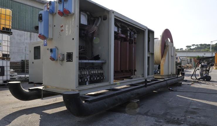 Cabine elettriche di trasformazione for Noleggio cabina di steamboat
